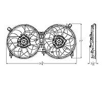 TYC 623630 交換用冷却ファンアセンブリ (NISSAN Murano対応)