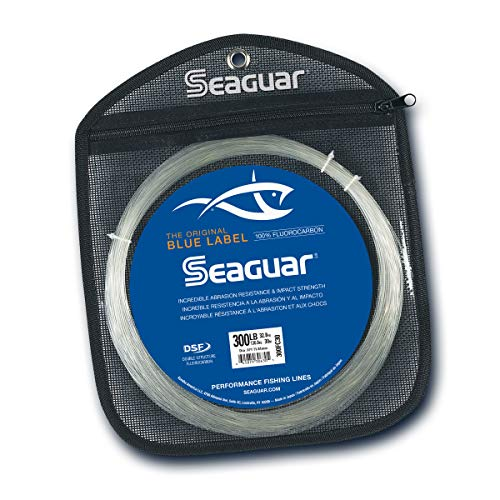 Seaguar Blue Label Big Game 30-Meter Fluorocarbon Leader (300-Pounds)