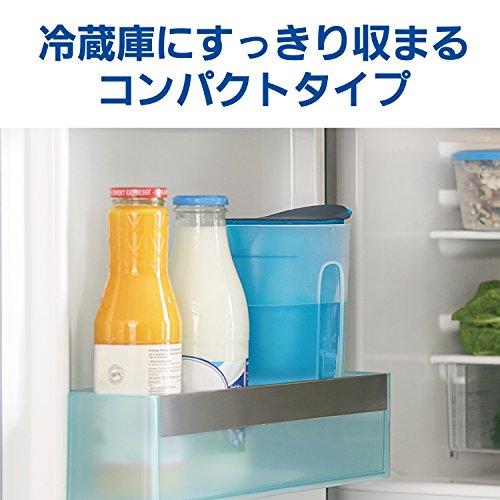 ブリタ浄水器ポット浄水部容量:1.0L(全容量:1.5L)ファンブルーマクストラプラスカートリッジ1個付き【日本仕様・日本正規品】