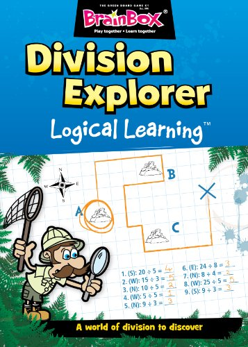 The Green Board Game Co. Divisione Explorer Logical Learning