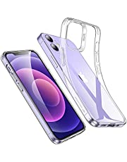 ESR Cover Compatibile con iPhone 6.1 Pollici 12 e 12 PRO, Custodia Serie Project Zero Liquido Morbido, Trasparente