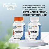 Doctor's Best Melatonin Gummies- 5 mg per Serving, Helps Promote Healthy Sleep, Jet Lag, 60 Count