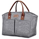Insulated Lunch Bag for Women, Large Cooler Pack Lunch Bags Lunch Organizer
