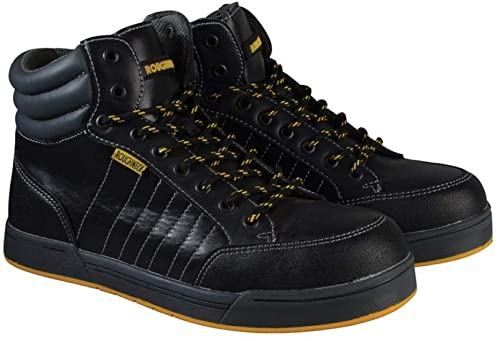 Roughneck clothing RAPTOR9 - El tamaño de 9 retro hi-top de arranque entrenador de seguridad