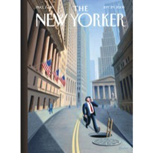 The New Yorker, September 29th, 2008 (William Finnegan, Jeffrey Toobin, John Cassidy) copertina