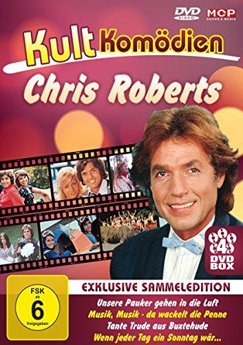 Kultkomödien mit Chris Roberts (4DVD-Box: Unsere Pauker gehen in die Luft / Musik, Musik - da wackelt die Penne / Tante Trude aus Buxehude / Wenn jeder Tag ein Sonntag wär...)