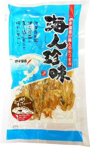 伊平屋島の海人珍味 ミーバイチップ 20g×3P 伊平屋村漁業協同組合 ミーバイをシンプルに塩だけで味付けして燻製にした海人のおつまみ 素材そのものの味をいかした沖縄の珍味
