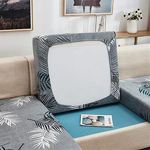 Fundas de cojín para sofá y sofá, elásticas, de repuesto para cojines individuales (primavera, 3 plazas)