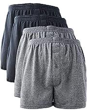 [VANDIT]ニット トランクス メンズ パンツ 無地 4枚/6枚セット 大きいサイズ M L LL 3L 4L 5L