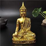 YXYSHX Esculturas coleccionables Decorativas para el hogar Estatua de Buda de Oro de Tailandia hindú...