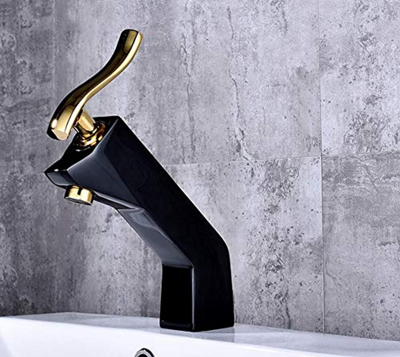Xiehao Paint Basin Faucet Deck Faucet Hot Water Cold Faucet Bathroom Faucet