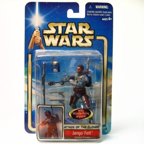 Hasbro Star Wars Saga 2002 Jango Fett Action Figure [Kamino Escape]