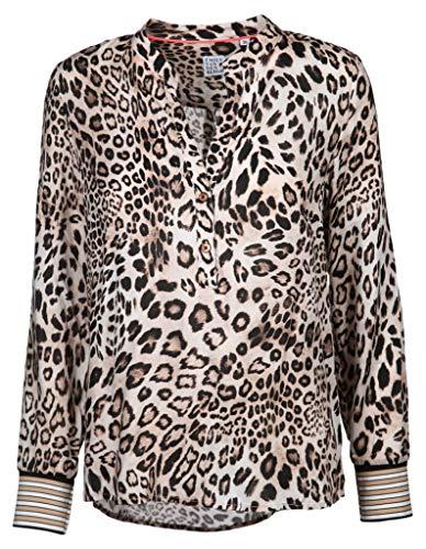Emily van den Bergh Damen Bluse Größe 42 EU Beige (beige)