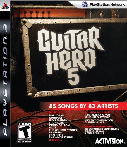 Activision Guitar Hero 5, PS3 PlayStation 3 Inglés vídeo - Juego (PS3, PlayStation 3, Música, Modo multijugador, T (Teen))