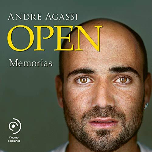 Diseño de la portada del título Open