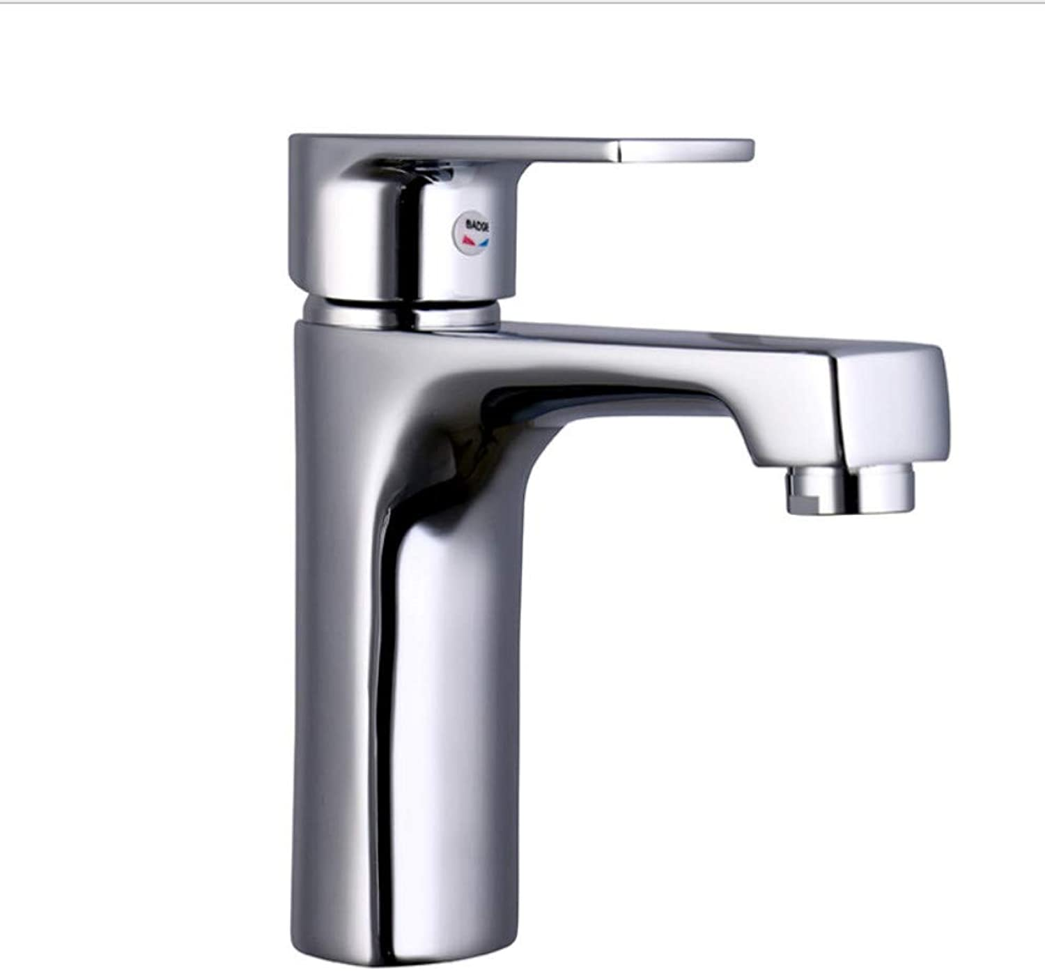 Kitchen Sink Taps Bathroom Sink Taps Single Hole Diamond Basin Faucet Wholesale Direct Sales Bathroom Bathroom Copper Basin Faucet