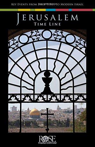 Jerusalem Timeline: Pamphlet: Key Events From Bible Times to Modern Israel