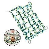 ASOCEA Hamster Klettern Baumwoll Seil Netze kleine Tier hängenden Hängematte