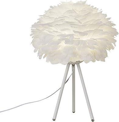 NJ Table lamp Nordic Creative Feather