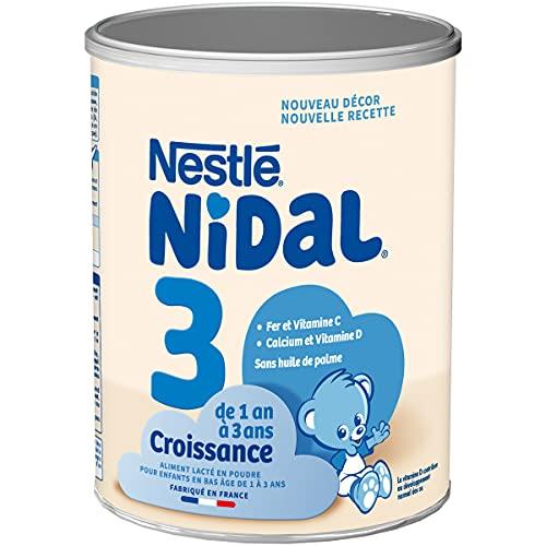 Nidal 3 - Lait de croissance en poudre - De 1 à 3 ans - Boîte de 800g
