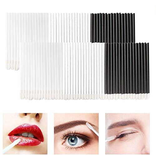 Lip Gloss Pinsel 300Pcs Lippenpinsel Lip Brush Einweg Lippenstift Zauberstäbe Make-up Tool-Kits...