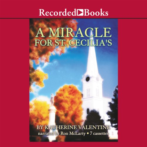 A Miracle for St. Cecilia's audiobook cover art