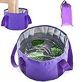 Collapsible Foot Basin - Portable Foot Bath Tubs Soaking Feet Home Pedicure Foot Spa