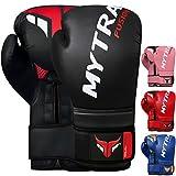 Mytra Fusion Guantes de boxeo - Guantes de entrenamiento MMA perfectos para...