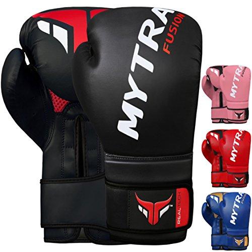 Mytra Fusion Boxhandschuhe 10oz 12oz 14oz 16oz MMA Boxhandschuhe für das Training Punching Sparring Muay Thai Kickboxen Herren Damen