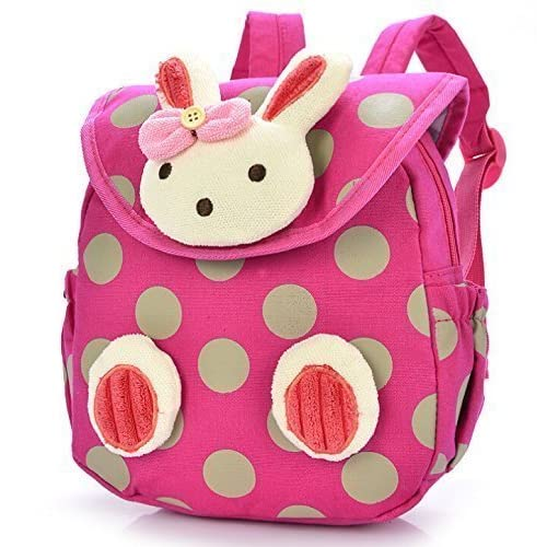 ba3d7c9c342b Amazon.com  Lowpricenice Baby Toddler Child Kid 3D Cartoon Backpack  Schoolbag Shoulder Bags (Hot Pink)  Toys   Games
