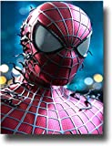 Anzonto Décoration murale de salle de bain Spiderman Avatar Serious Poster sans cadre 40,6 x 61 cm
