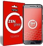 ZenGlass [2 Stück Flexible Glas-Folie kompatibel mit HTC 10 Panzerfolie I Bildschirm-Schutzfolie 9H I (Kleiner Als Das Gewölbte Bildschirm)