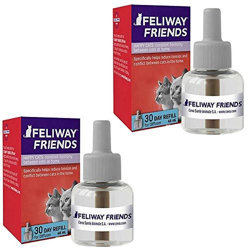 Combo 2un Feliway Friends Refil 48ml Cada - Ceva