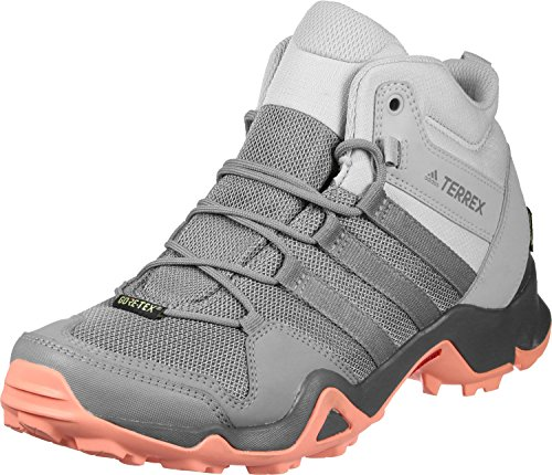 Adidas Terrex Ax2R Mid GTX W, Botas de Senderismo para Mujer, Gris (Gridos/Gritre/Cortiz 000), 38 2/3 EU