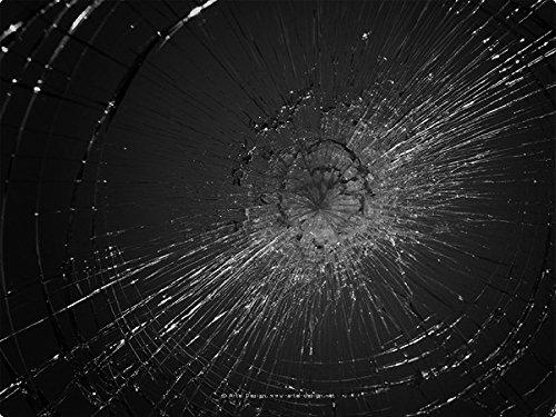 Tuneon Schlagschutzfolie Splitterschutzfolie gegen Einbruch Fenster Glas Schutz (50 cm x 152 cm)