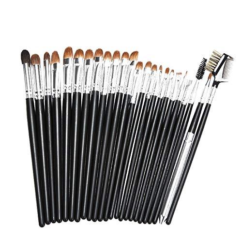 ZhangC Make-up Beginners Borstels Make-up Penseel Set Premium Synthetische Make-up Borstel Cosmetische Wenkbrauw Poesschaduw Borstel Liner Potlood Cosmetische Borstel Tool Blending
