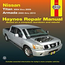 Haynes Repair Manual: Nissan Titan models 2004-2009 and Armada 2005-2010  Models covered: All Nissan 2WD and 4WD Titan mod...