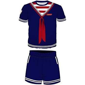 Moneycome Steve Scoops Ahoy Sailor Suit Stranger Things Disfraz ...