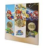 Nintendo 3 piece Mario Collectible Coin Set