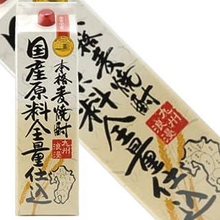 本格麦焼酎 九州浪漫 25度1800mlパック