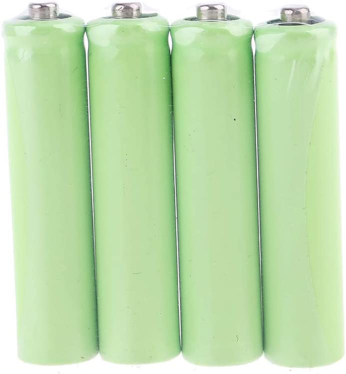 4Pcs LR03 AAA Size Dummy Fake Battery Setup Shell Placeholder Cylinder Conductor