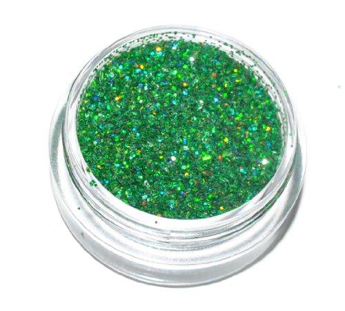 Kiara H&B: polvere con brillantini verdi, per occhi, viso, corpo, unghie
