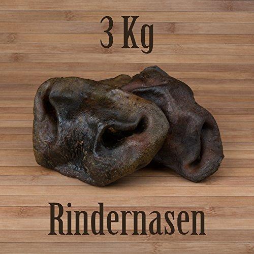3 Kg Rindernasen - wie Rinderkopfhaut Rinderhaut Ochsenziemer Kauartikel Kausnack