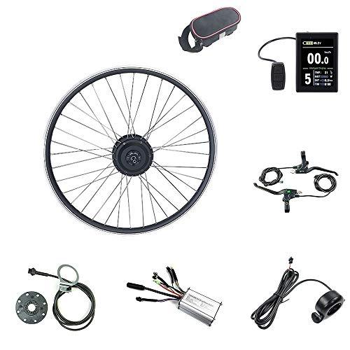 Schuck Kit de modificación de Bicicleta eléctrica Rueda Delantera Motor Rueda 16-29...