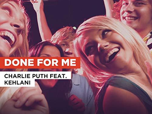 Done for Me al estilo de Charlie Puth feat. Kehlani