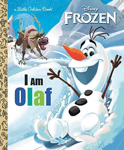 I Am Olaf Disney Frozen Little Golden Book product image