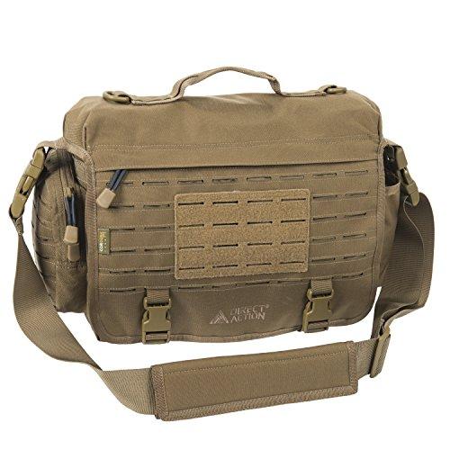 Direct Action MK II Messenger Laptop Akten Office Bag Tasche Coyote Brown