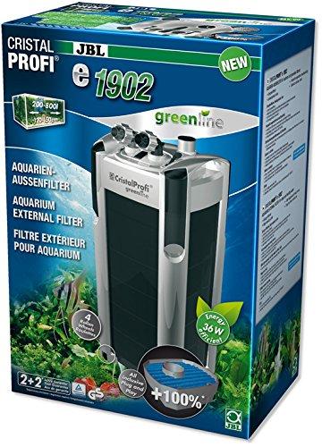 JBL - CristalProfi e1902 greenline Außenfilter für Aquarien von 200-800 Litern