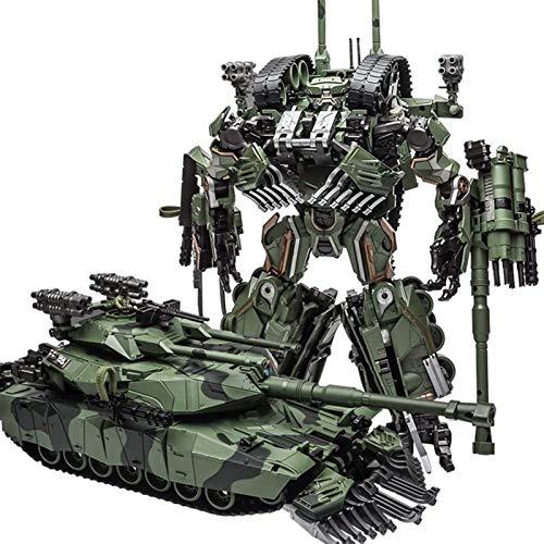 ZPNBKLS Juguetes de Transformadores, M04 Muñeca de deformación ruidosa Modelo de Tanque de Juguete 22 cm de deformación ABS Robot de Coche,Regalo de Cumpleaños
