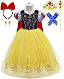 Romy's Collection Princess Snow White Toddler Girls Costume Dress up (4-5)
